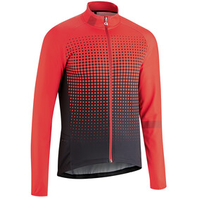 Gonso Julier Full-Zip LS Jersey Men, high risk red